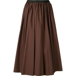 Antonio Marras contrast waistband midi skirt - Brown found on MODAPINS from FarFetch.com- UK for USD $741.28