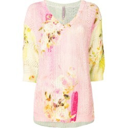Antonio Marras floral print jumper - Multicolour found on MODAPINS from FarFetch.com - US for USD $455.00
