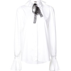 Adam Lippes ruffled neck shirt - Black found on MODAPINS from FarFetch.com- UK for USD $543.96
