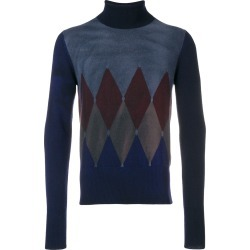 Ballantyne argyle knit sweater - Blue found on MODAPINS from FarFetch.com - US for USD $505.00