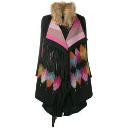 Bazar Deluxe aztec fur coat - Black found on MODAPINS from FarFetch.com - US for USD $1044.00