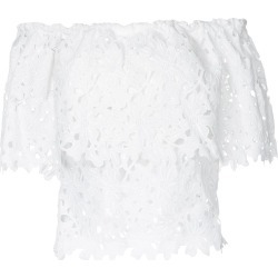 Bambah lace off shoulder top - White found on MODAPINS from FARFETCH.COM Australia for USD $306.40