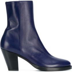 A.F.Vandevorst side zip ankle boots - Blue found on MODAPINS from FarFetch.com- UK for USD $748.39