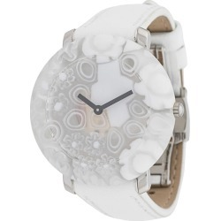 Yunik Small Round White Flowers 36mm found on Bargain Bro UK from FarFetch.com- UK