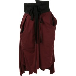 Aganovich high waisted jersey skirt - Red found on MODAPINS from FarFetch.com - US for USD $609.00
