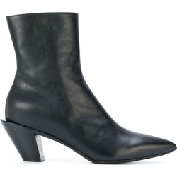 A.F.Vandevorst angled heel ankle boots - Black found on MODAPINS from FarFetch.com- UK for USD $748.39