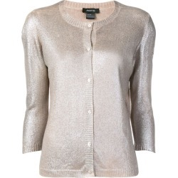 Avant Toi glitter effect cardigan - Neutrals found on MODAPINS from FarFetch.com- UK for USD $830.72