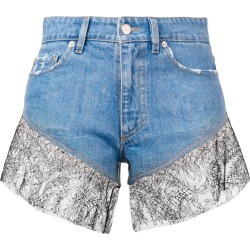 Almaz lace shorts - Blue found on MODAPINS from FarFetch.com- UK for USD $744.61