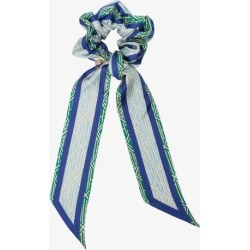 Chloé Womens Blue And Green Silk Hair Scrunchie found on Bargain Bro UK from Browns Fashion