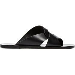 Atp Atelier black allai leather sandals found on MODAPINS from FarFetch.com - US for USD $216.00