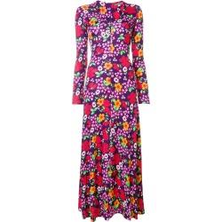 Alexa Chung floral print maxi dress - Purple found on MODAPINS from FARFETCH.COM Australia for USD $333.61