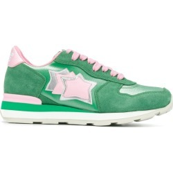 Atlantic Stars star patch sneakers - Green found on MODAPINS from FarFetch.com - US for USD $198.00