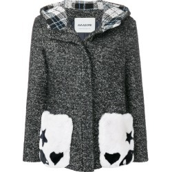 Ava Adore hooded fur pockets coat - Grey found on MODAPINS from FARFETCH.COM Australia for USD $488.95