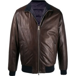 Barba padded leather jacket found on MODAPINS from Eraldo for USD $1057.87