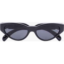 Versace Eyewear Womens Black Medusa Cat Eye Sunglasses found on Bargain Bro UK from Browns Fashion