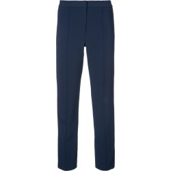 Adam Lippes pintuck cigarette trousers - Blue found on MODAPINS from FarFetch.com - US for USD $690.00