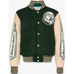Billionaire Boys Club Mens Green Astro Varsity Bomber Jacket found on MODAPINS from Browns Fashion for USD $623.94