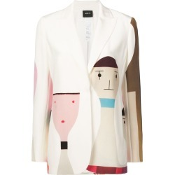 Akris Salvador jacket - White found on MODAPINS from FARFETCH.COM Australia for USD $5437.01