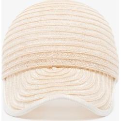 D'estree Womens Neutrals White Raymond Straw Cap found on Bargain Bro UK from Browns Fashion
