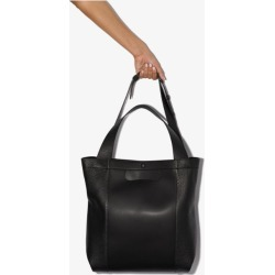 Maison Margiela Womens Black Leather Shopper Tote Bag found on Bargain Bro UK from Browns Fashion
