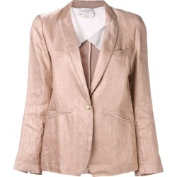 Forte Forte creased blazer - Pink found on Bargain Bro UK from FarFetch.com- UK