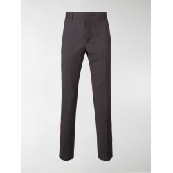 Prada checked tailored trousers found on Bargain Bro India from stefania mode for $980.00