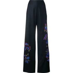 Alice Archer Harper embroidered trousers - Blue found on MODAPINS from FARFETCH.COM Australia for USD $768.87