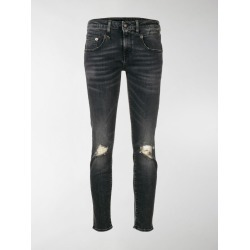R13 distressed skinny jeans found on Bargain Bro India from stefania mode for $227.00