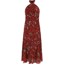 Andrea Marques printed silk dress - Red found on MODAPINS from FarFetch.com- UK for USD $974.20