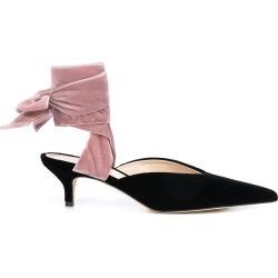 Silvia Tcherassi Bandana Slide mules - Black found on Bargain Bro UK from FarFetch.com- UK