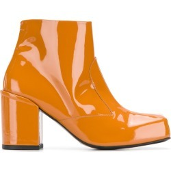 Aalto side zip ankle boots - Orange found on MODAPINS from FarFetch.com- UK for USD $449.43
