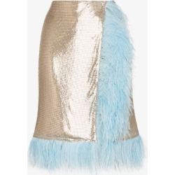 Christopher Kane Womens Silver Chain Mail Wrap Skirt found on MODAPINS from Browns Fashion for USD $2080.72