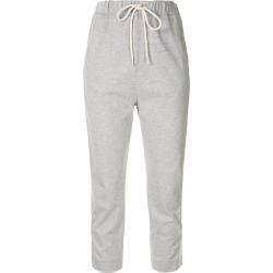 Bassike cropped track trousers - Grey found on MODAPINS from FARFETCH.COM Australia for USD $192.44