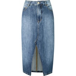 Amapô straight jeans skirt - Blue found on MODAPINS from FarFetch.com- UK for USD $134.23
