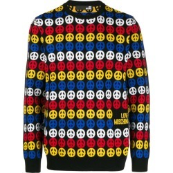 Love Moschino relaxed fit printed jumper found on Bargain Bro UK from Eraldo