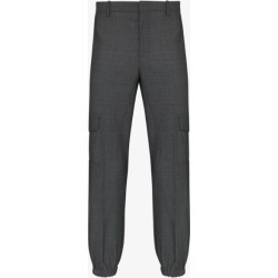 Neil Barrett Mens Grey Tailored Cargo Trousers found on Bargain Bro UK from Browns Fashion