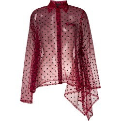 Barbara Bologna polka dot shirt - Red found on MODAPINS from FarFetch.com - US for USD $334.00