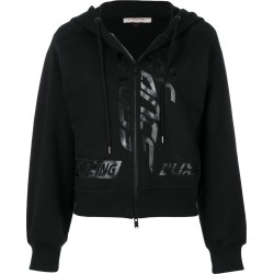 A.F.Vandevorst zipped hooded sweatshirt - Black found on MODAPINS from FarFetch.com- UK for USD $228.39