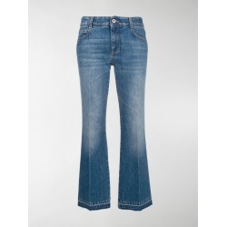 Stella McCartney cropped flared jeans found on Bargain Bro India from stefania mode for $248.00