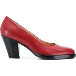 A.F.Vandevorst block heel pumps - Red found on MODAPINS from FarFetch.com- UK for USD $586.49