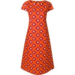 Aspesi floral printed shift dress - Orange found on MODAPINS from FarFetch.com - US for USD $467.00
