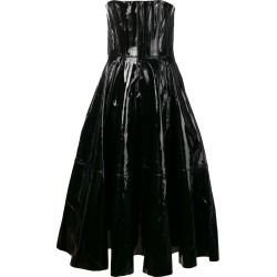 Alex Perry strapless midi dress - Black found on MODAPINS from FarFetch.com- UK for USD $1764.98