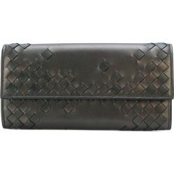 Bottega Veneta woven fold-over wallet - Metallic found on Bargain Bro UK from FarFetch.com- UK
