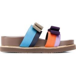 Suecomma Bonnie Color ribbon sandals - PURPLE found on Bargain Bro UK from FarFetch.com- UK