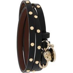 Alexander McQueen Double-wrap studded bracelet found on Bargain Bro UK from Eraldo