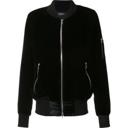 Amiri velvet bomber jacket - Black found on MODAPINS from FarFetch.com- UK for USD $1438.92