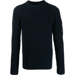 CP Company ribbed lens detail jumper - Blue found on Bargain Bro UK from FarFetch.com- UK