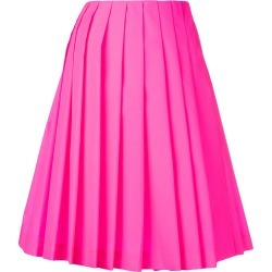 Prada pleated loose skirt - Pink found on MODAPINS from FARFETCH.COM Australia for USD $570.81
