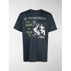R13 slogan print T-shirt found on Bargain Bro UK from MODES GLOBAL