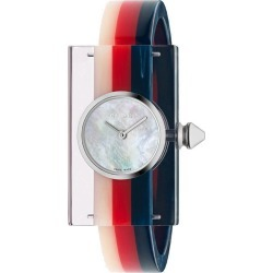 Gucci Vintage Web 24x40mm watch - Blue found on Bargain Bro UK from FarFetch.com- UK